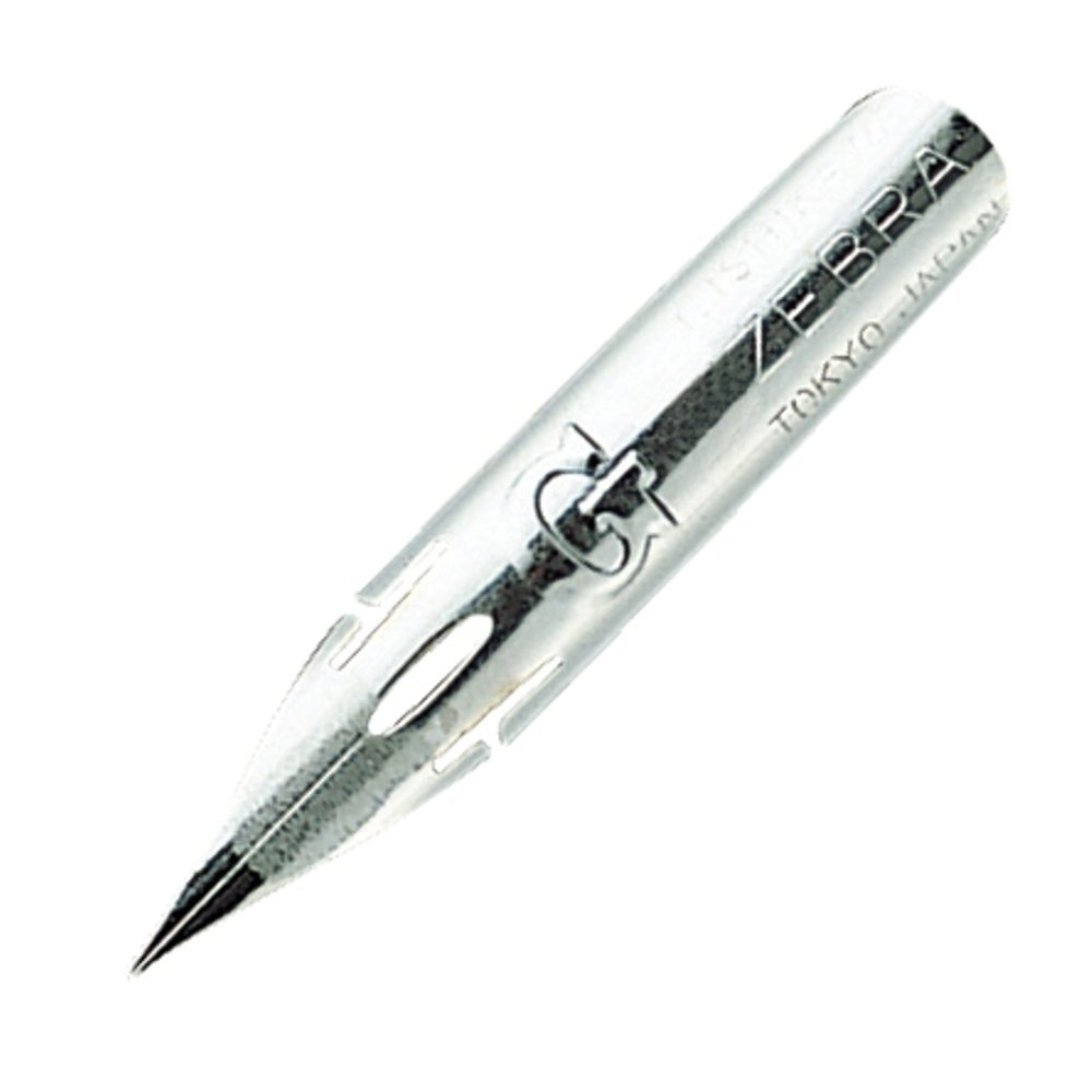 Pack of 10 x 10 10 SET- Zebra Comic G Model Chrome Pen Nib 100 NIBS PG-6C-C-K